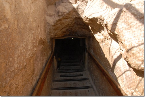 Entrance to the Pyramid of Khafre
