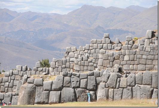 Sacsayhuamán complex near Cusco, Peru