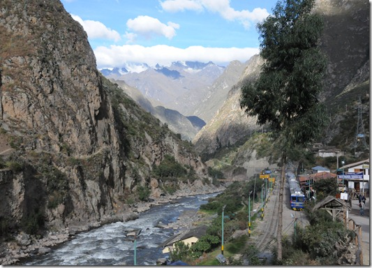 The train to Machu Picchu, Peru
