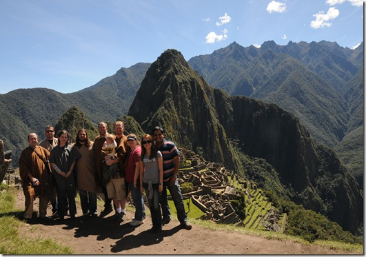 SharePoint Speakers at Machu Picchu, Peru