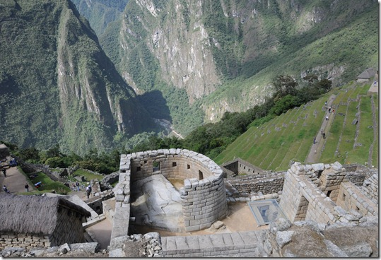 Temple of the Sun, Machu Picchu, Peru