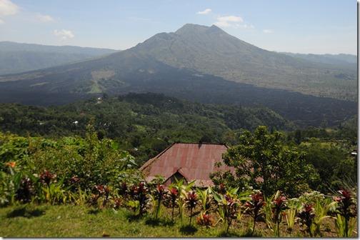 Mount Batur, a Balinese volcano