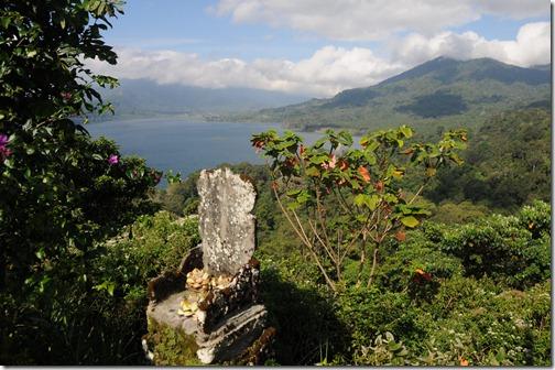 Near the lakes in the area of Wanagiri, Bali