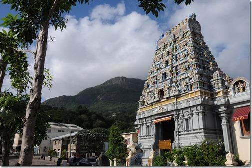 Arulmigu Navasakthi Vinayagar Hindu Temple, Victoria, Seychelles