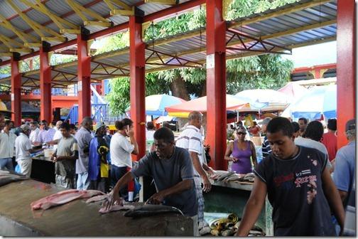 Victoria Fish Market, Victoria, Seychelles