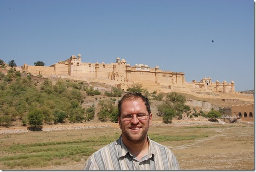 Amer Fort (Amber Fort) near Jaipur, Rajasthan, India