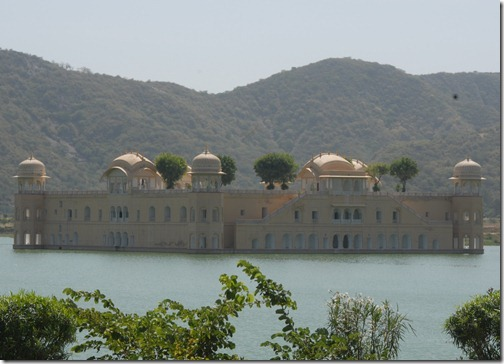 Jal Mahal (Water Palace) near Jaipur, Rajasthan, India