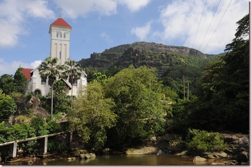 Cascade Church, Eastern Coast of Mahé Island, Seychelles