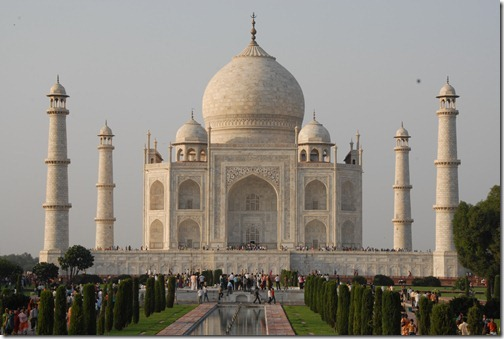 The Taj Mahal Mausoleum, Agra, India