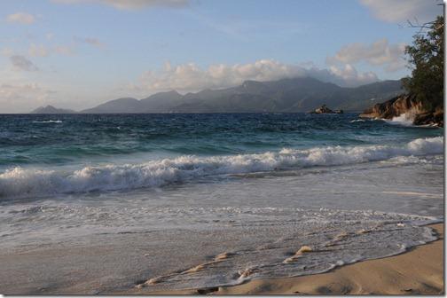 Anse Soleil Beach, Western Mahé Island, Seychelles