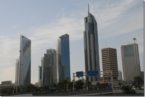 Large skyscrapers in Kuwait City, Kuwait