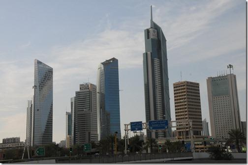 Large skyscrapers in Kuwait City, Kuwait