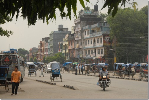 Border city of Bhairahawa, Nepal