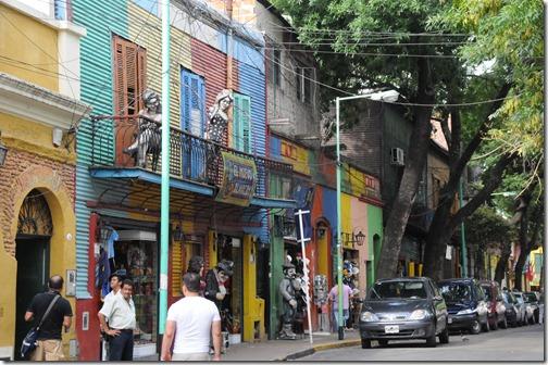 'La Boca' neighborhood, Buenos Aires, Argentina