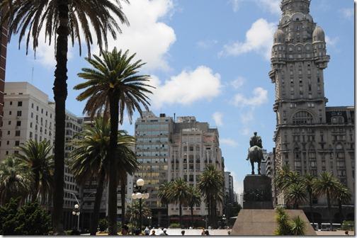 Plaza Independencia, Montevideo, Uruguay