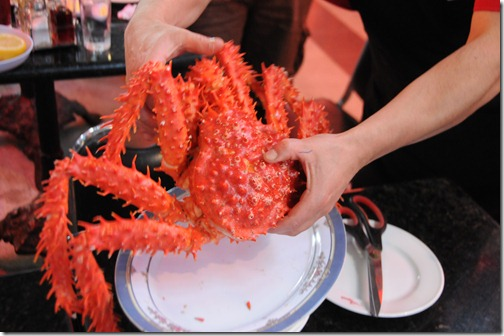 Chilean Centolla, or Southern King Crab, Santiago de Chile