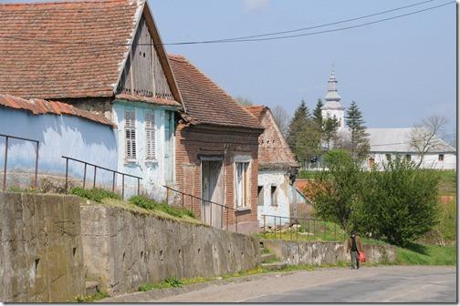 Church in Nicolint, Romania