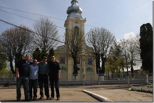 Church in Răcăşdia, Romania