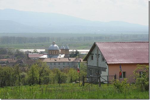 Church in Grădinari, Romania