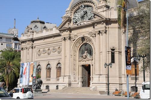 Beau Arts Museum, Santiago, Chile