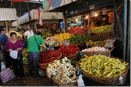 Patronato market, Santiago, Chile