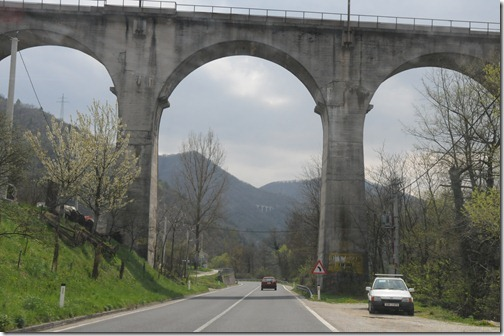 Railway viaduct in the Countryside of Bosnia-Herzegovina