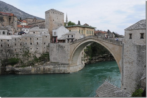 Stari Most (Old Bridge) in Mostar, Bosnia-Herzegovina