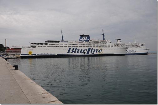 BlueLine Ferry from Split, Croatia, to Ancona, Italy