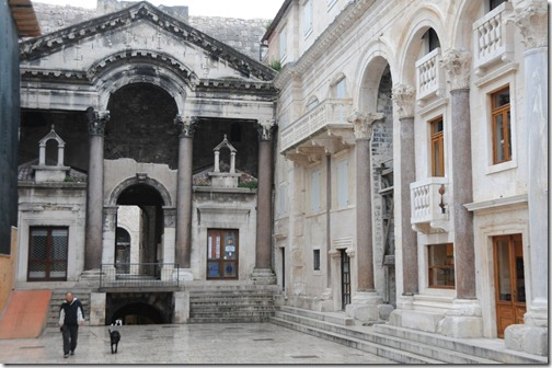 The Peristyle of Diocletian's Palace, Split, Croatia
