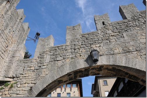 Walls of San Marino City, San Marino