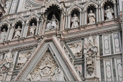 Frescoes on the Florence Cathedral, Florence, Italy