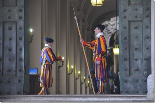 Papal Swiss Guards, Vatican City