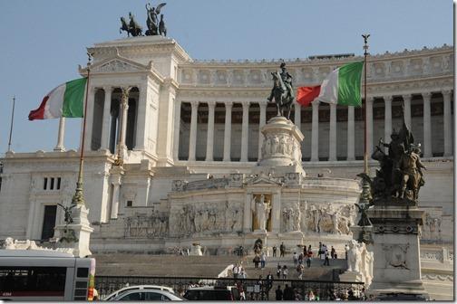 Monumento Nazionale a Vittorio Emanuele II  (Altare della Patria) in Rome, Italy