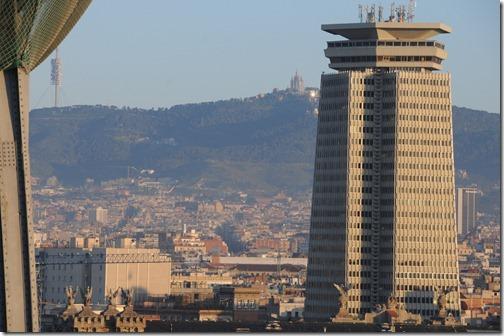 Edifici Colon (Columbus Building) in Barcelona, Spain