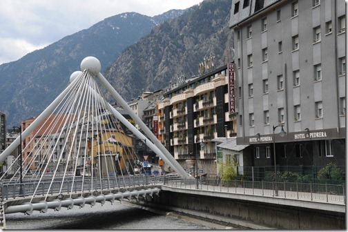 Pont de Paris Bridge, Andorra la Vella, Andorra