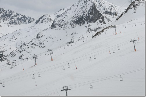 Ski slopes in Andorra