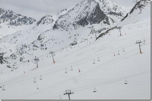 Ski slopes in Andorra