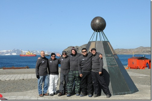 Monument to the Antarctic Treaty, King George Island, Antarctica
