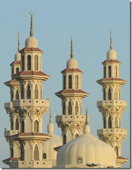 Minarets of the Al-Othman Mosque, Kuwait City, Kuwait