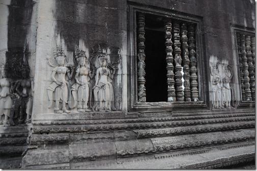 Devatas inside the Inner Temple Complex, Angkor Wat, Cambodia