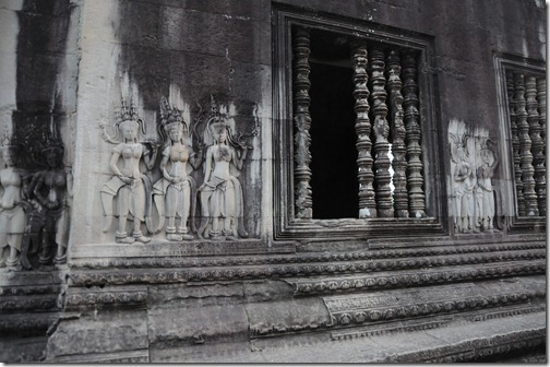 Devatas inside the Inner Temple Complex, Angkor Wat, Cambodia
