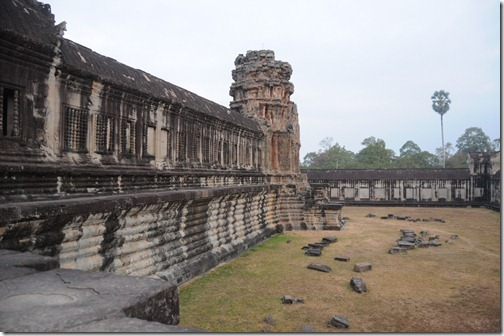 Courtyard of Angkor Wat, Cambodia