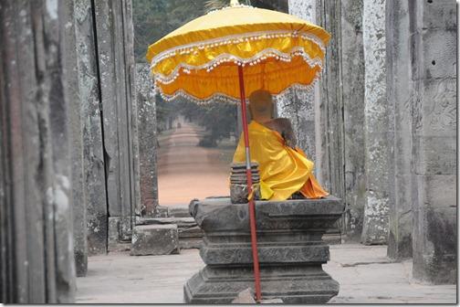 Buddhist Statue at the Bayon Temple, Angkor Thom, Cambodia