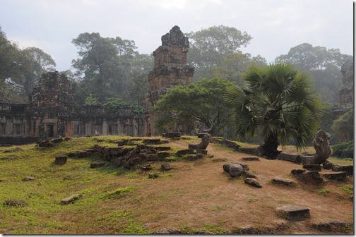 North Khleangs inside Angkor Thom, Cambodia