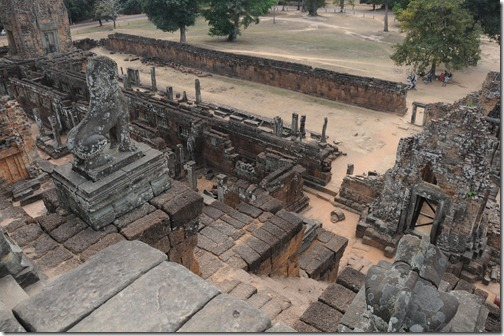 View from the top of Pre Rup temple, Angkor region, Cambodia