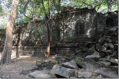 Ruins of the temple of Beng Mealea, Cambodia