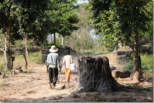 Villagers near Beng Mealea, Cambodia