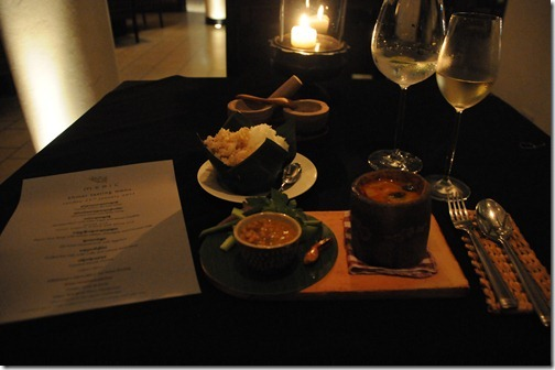 Khmer Rouge Tasting Menu at the Meric Restaurant in the Hôtel de la Paix, Siem Reap, Cambodia