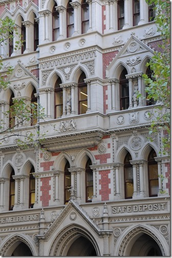 Old Safe Deposit Building in Melbourne, Victoria, Australia
