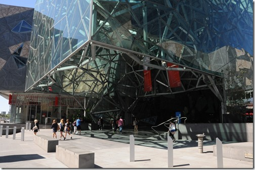 The Atrium at Federation Square, Melbourne, Victoria, Australia